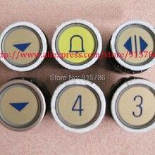 Кнопки лифта/d-типа радио Кнопка/М-образные кнопки лифта круглые