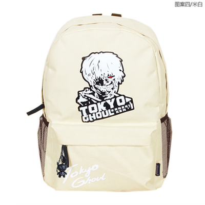 Anime tokyo ghoul Cosplay Male and female high school student travel canvas bag casual backpack