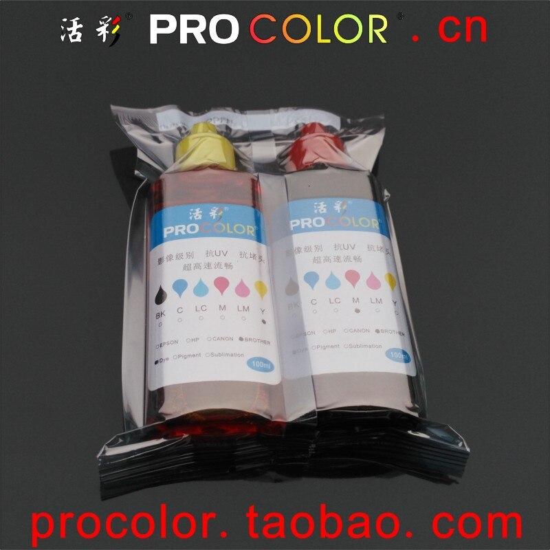 774 Pigment ink CISS EcoTank ink 664 dye ink refill kit For Epson ET-14000  ET14000 ET 14000 L 606 656 L606 L656 inkjet printer