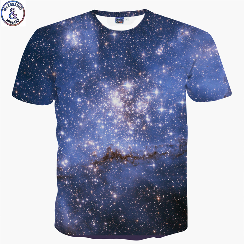 Mr.1991 brand new Galaxy star /cartoon 3D printed t-shirt for boys or girls teenage big kids t shirt children clothing A58 hurley big boys staple t shirt