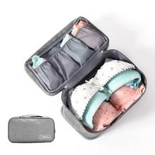 Underwear Bra Multi-layered Packaging Storage Bag for Travel Storage Portable Clean Waterproof