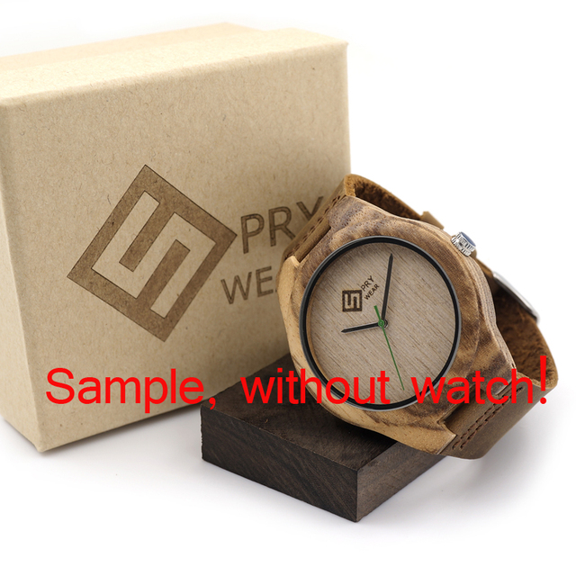Personality Creative Design Logo MESSAGE Engraved Carved Customize ONLY Logo cost Laser Charge No Watch 4