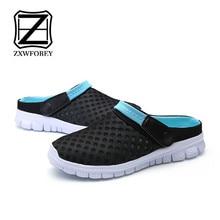 ZXWFOBEY Men-Women Slip-On Breathable Mesh Shoes Couples Spo