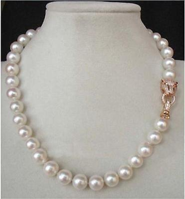 18 10-11MM AAA++ GENUINE WHITE SOUTH SEA AKOYA PEARL NECKLACE18 10-11MM AAA++ GENUINE WHITE SOUTH SEA AKOYA PEARL NECKLACE