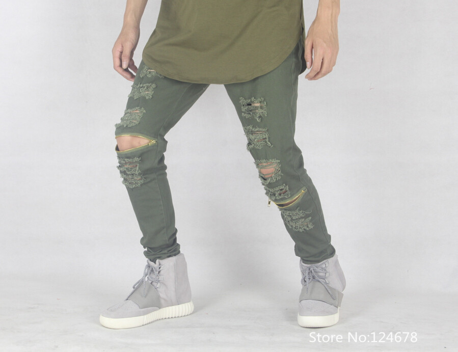 Cool ripped jeans for guys – Global fashion jeans collection