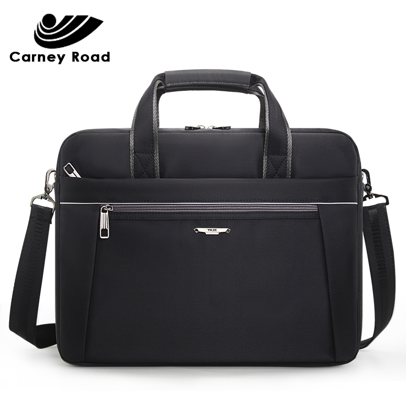 Famous Brand Oxford Waterproof Business Men Briefcase Casual 15.6 Inch Laptop Bag Document Office Men Handbag Shoulder Bag