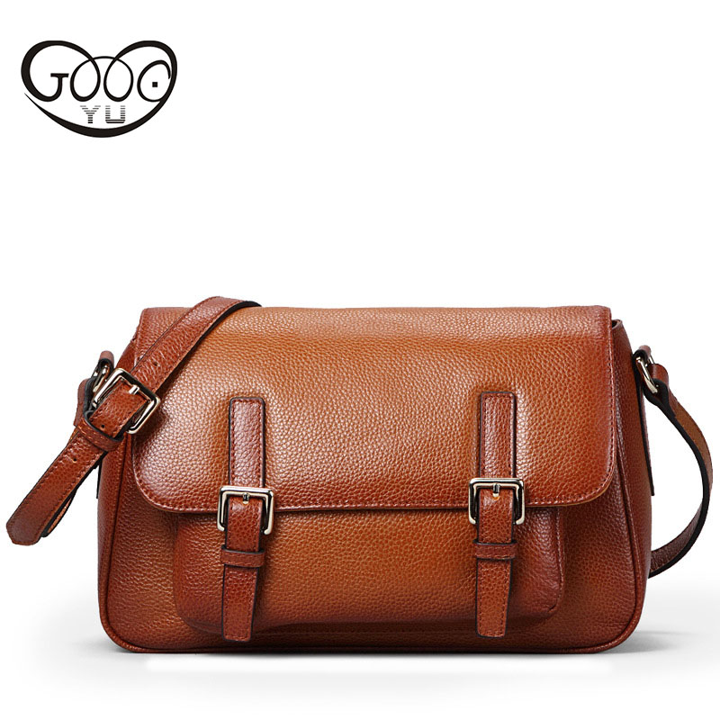 British Fan children retro postman package fashion quality first layer of cowhide lychee pattern shoulder bag large capacity Mes children of rhatlan