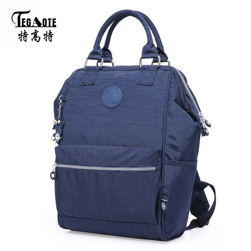 TEGAOTE New Arrivals Men Backpack For Laptop Backpack Large Capacity Casual Style Bag Water Repellent Backpack Female