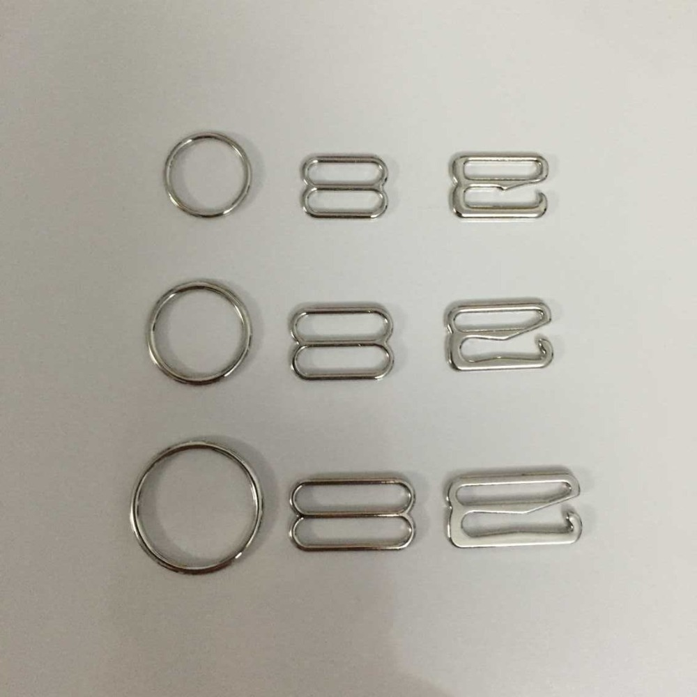 Eco friendly alloy bra buttons nickel plated free shipping 1000 pcs