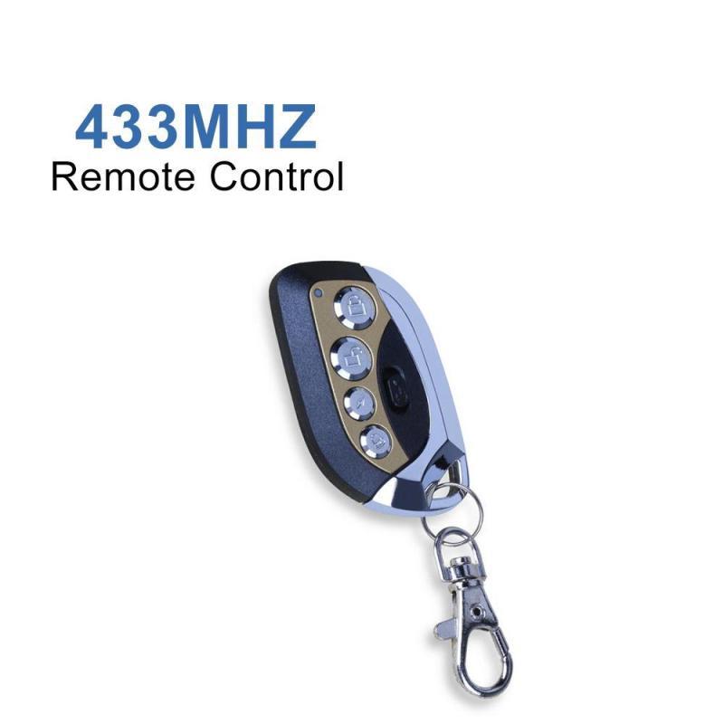 433 мГц Беспроводной Дистанционное управление автомобиля коммутатор 4 Пуговицы клонирования дублирование передатчик брелок Обучение код дл...