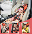 Car baby cushion portable child seat car seat free shipping