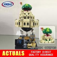MOC XingBao 05001 1179 Unids Creativo Genuino Serie de La Ciudad en El Cielo Conjunto Educativos Building Blocks Ladrillos Modelo XB-05001