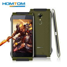Original Homtom HT20 Android 6.0 Waterproof Shockproof Smartphone  4.7 inch 4G MTK6737 Quad Core 2GB RAM 16GB ROM Mobile Phones