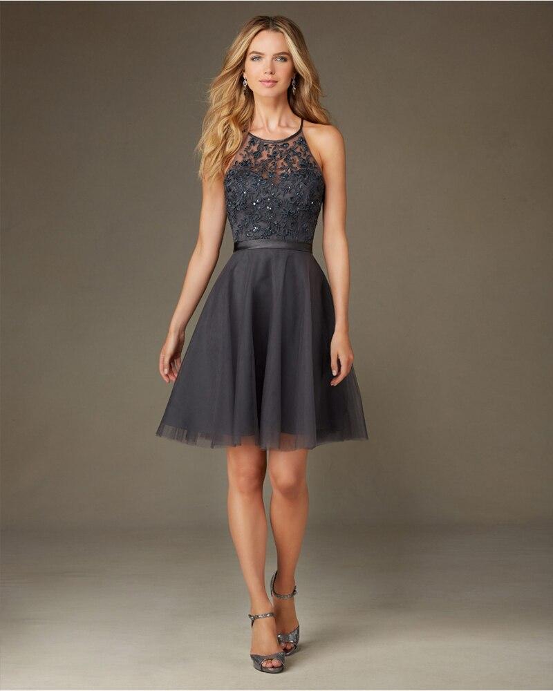 Popular Light Grey Bridesmaid Dresses-Buy Cheap Light Grey ...