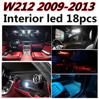 18pcs X Free Shipping Error Free LED Interior Light Kit Package For Mercedes W212 Accessories 2009