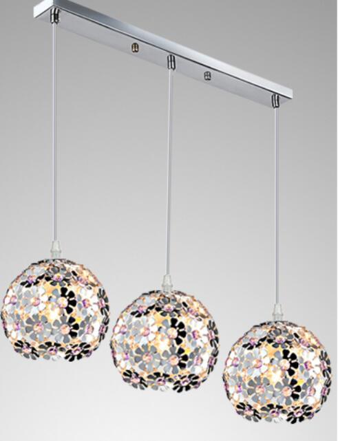 1/3heads lamps Restaurant lamp creative personality bar pendant light single head three head modern simple dining room FG464 цена