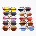 1 компл. = 1 шт. очки + 1 шт. коробка Куклы круглые очки солнцезащитные очки Аксессуары подходит для BJD Американский Девушки кукла 16 дюймовые куклы es026