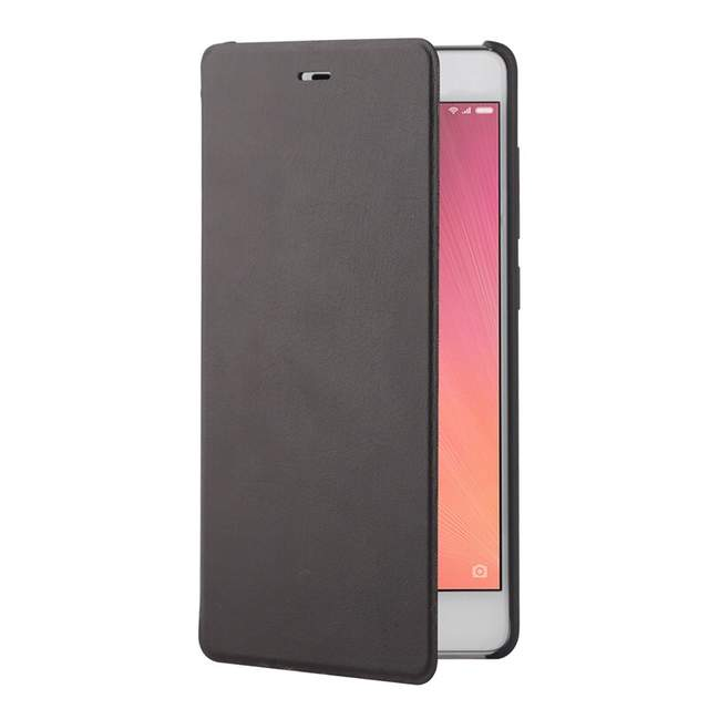 US $11 99 |IN STOCK 100% Original Flip Case cover for Xiaomi Redmi 3  protector case flip sabic matte leather cover for xiaomi redmi 3-in Phone  Bumper