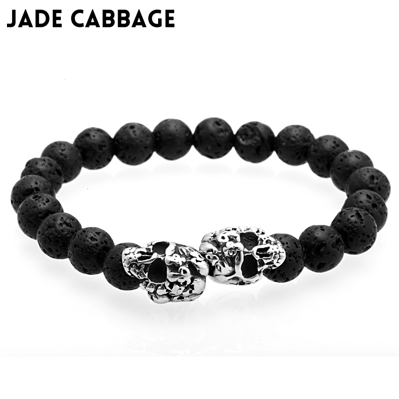Jewelry & Accessories Useful Natural Crystal Bracelet Female Fashion Jewelry Beaded Bracelets Black Obsidian Stone Personality Letter Style