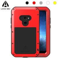 Love Mei Armor Metal Case For Xiaomi Mi Mix 2 Cover Powerful Aluminum Shockproof Life Waterproof