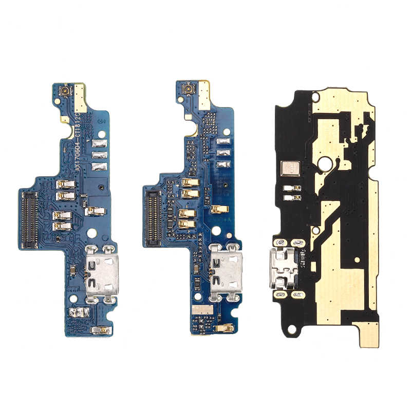 USB Pengisian Port Papan FLEX Kabel Konektor Bagian untuk Xiaomi Redmi Note 3/4/Note 3/4 Pro/ 4A/5A/4X/2 2A/3S Mikrofon Modul
