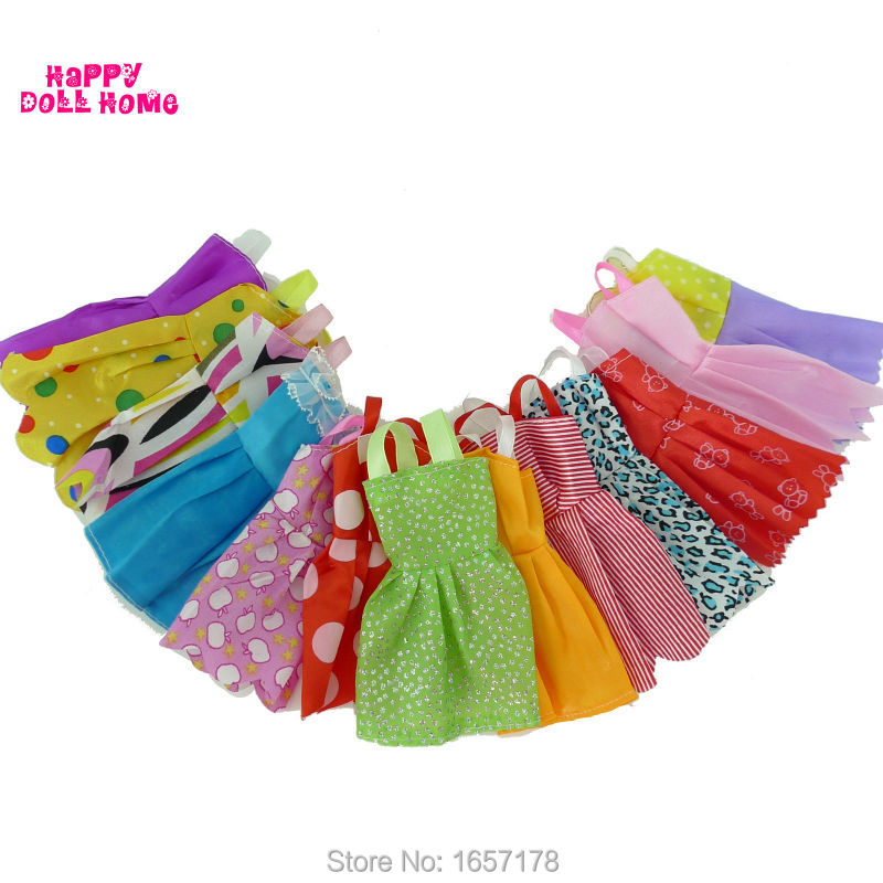 Random-12-Mix-Sorts-Beautiful-Handmade-Party-Dress-Fashion-Clothes-For-Barbie-Doll-Kids-Toys-Gift-Play-House-Dressing-Up-Costume-2