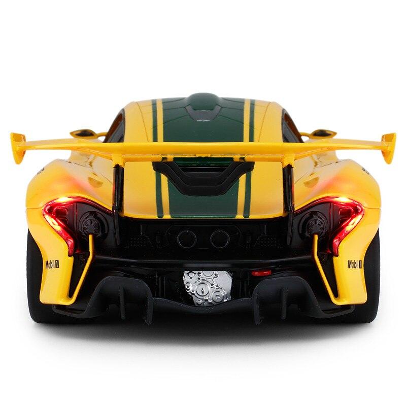 1:14 voiture télécommandée pour Mclaren P1 GTR Version de course Supercar sport de luxe voiture RC modèle adulte enfant jouet pour garçons enfant cadeau - 3