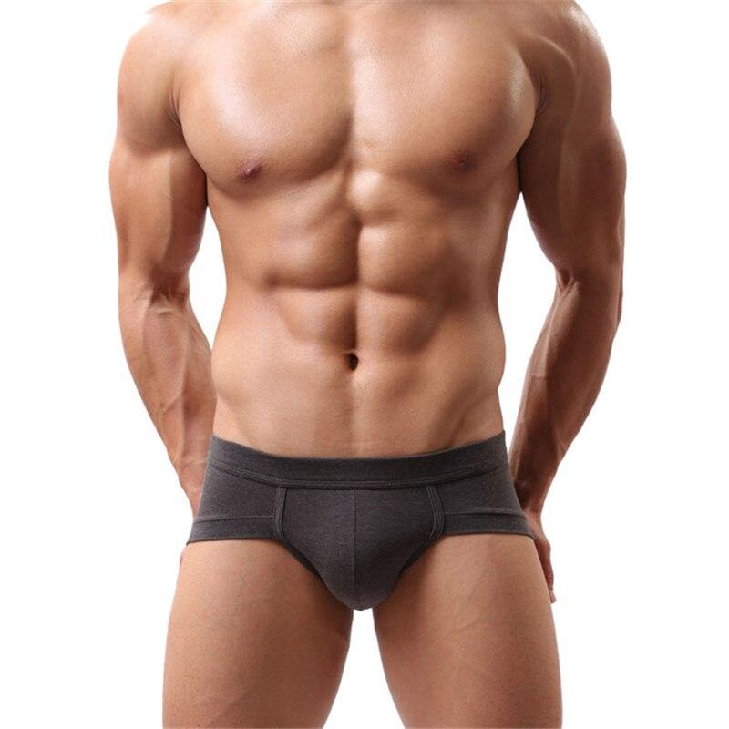 Buy Men's Swimwear Briefs Boxers New Sexy Ben Men Swimming Brief Men's Camouflage Shark Trunks Swimsuit