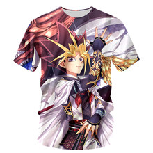 Hot Fashion Funny T-shirt Men T Shirt Anime Yu Gi Oh Monster Print Tshirt 3D Unisex Tee Tops Casual Chemise Homme Brand Clothing(Hong Kong,China)
