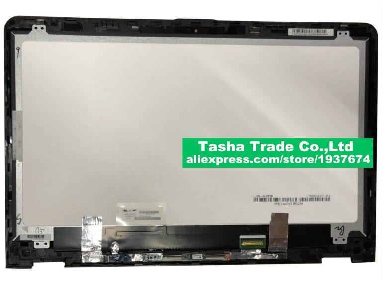 Для hp Envy X360 15 aq 15 aq105ng светодиодный ЖК дисплей Экран + сенсорная панель (диджитайзер) панель в сборе с сенсорным экраном плата для hp X360