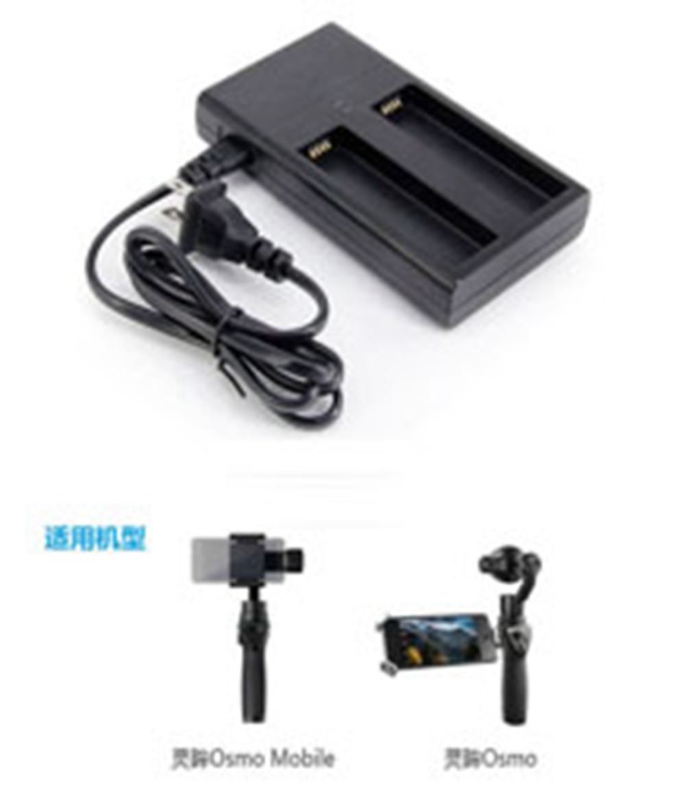 Battery Charger DJI OSMO Mobile Handheld Gimbal Camera Stabilizer Charging Hub Spare Parts US EU Plug Charger for HB01 battery стоимость