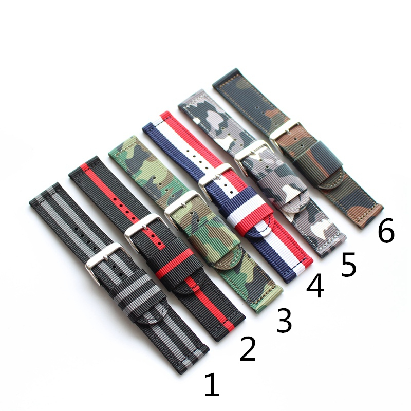TJP 18mm 20mm 22mm 24mm New Fashion Nato Army Military Camo Nylon Wrist Watch Bands Strap Bracelet For Sport Pilot Watch tjp 18mm 20mm 22mm 24mm new fashion nato zulu army military camouflage nylon wrist watch bands strap bracelet for sport watch
