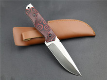 Strong Micarta Handle Fixed Blade Knife Multifunctional Hunting Straight Knife Full Tang Tactical Survival knives