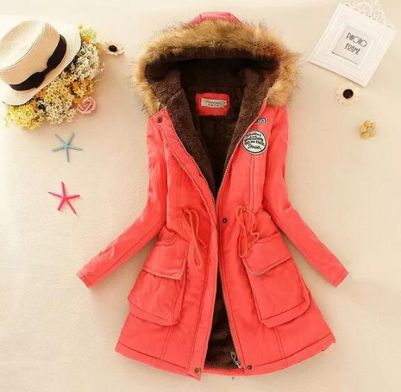 Warm Parkas Children girls Coat Fashion Autumn Winter Jacket big virgin Fur Collar Long Parka kids Hoodies Casual Cotton Outwear 2017 fashion winter jacket coat women long thicken down cotton padded faux big fur collar warm female outwear parkas woman