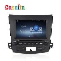 Auto 2 din android 7.1.1 GPS Navi für Mitsubishi Outlander 2007 + Peugeot 4007 navigation kopfeinheit multimedia video spielen 2 Gb Ram