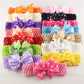 2pcs/Lot  Baby crochet elastic rubber Bands Newborn Headband tutu top bandeau bebe baby photography acessorioes para cabelo