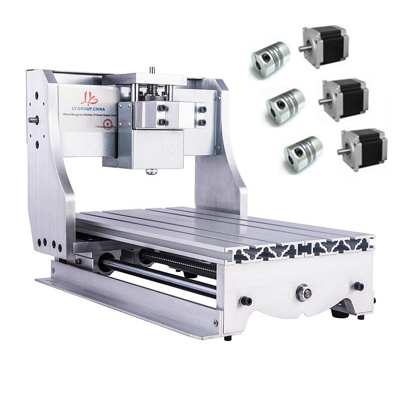 Mini CNC Frame Kit 3020 Lathe Body 1605 Ball Screw 3pcs NEMA 23 57 stepper Motor