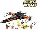 05004 10466 05029 740Pcs Star Wars First The TIE first order poe's Rebel X-wing Fighter Building Blocks 75149 79209 LEPIN bela