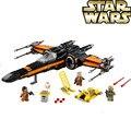 10466 05029 740 Pcs Star Wars Em Primeiro Lugar O EMPATE primeira ordem do poe Rebel X-asa do Lutador Blocos de Construção 75149 79209 LEPIN bela
