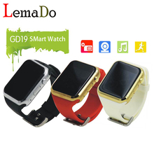 New GD19 smart watch Android Clock Smartwatch support SIM/ TF card with Camera for Android phone