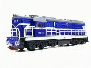 Image 2 - 1:50ダイキャストおもちゃモデル中国古典東風5271機関車古典的な音と光のおもちゃ送料無料