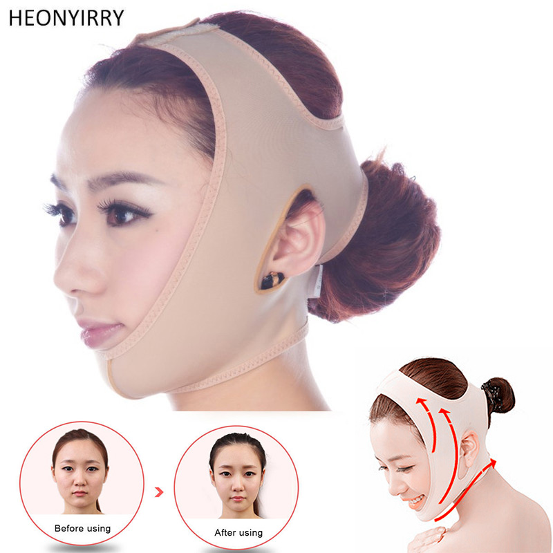 Delicate Facial Thin Face Mask Slimming Bandage Skin Care Belt Shape And Lift Reduce Double Chin