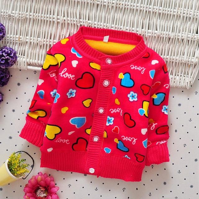 84cf0ab36ab7 Baby Girls Sweaters New Autumn Winter Cotton Cartoon Girls Sweater ...
