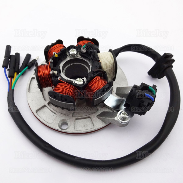 YX140 Mago Stator Kit with Light Wiring for YX 140cc