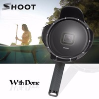 Professional SHOOT Diving Dome Port Fish Eyes Lens Cover Mask Sports Camera Accessories For GoPro Hero