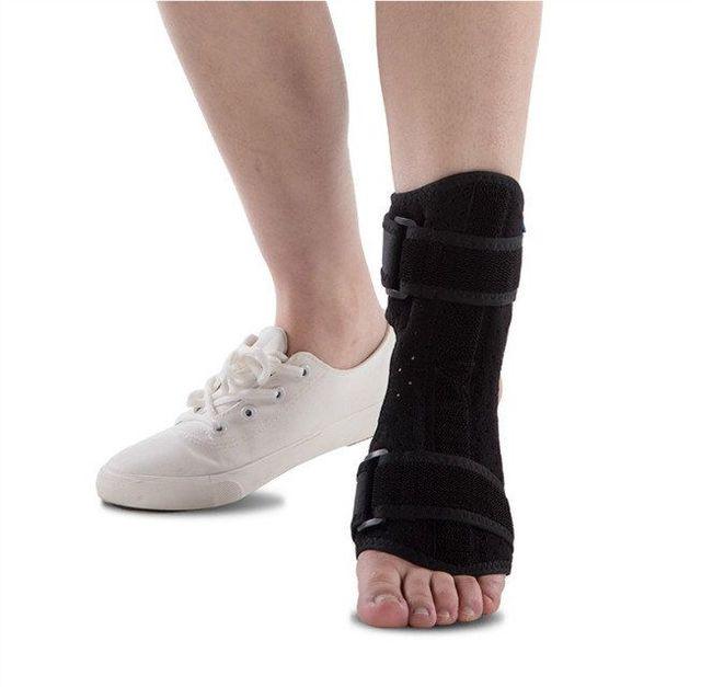 New Adjustable 1Pc Foot Drop Support Ankle Orthosis Braces Strap Wrap Elevator Poliomyelitis Hemiplegia Protection Unisex