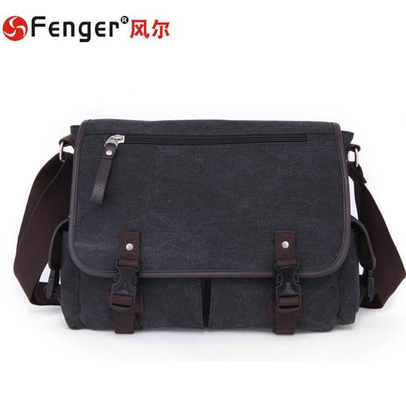ФОТО Brands men messenger bags high quality men's travel bag canvas Motorcycle Shoulder Bags Free shipping rugzak