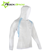 ROCKBROS Windproof Bike Bicycle Cycling Cycle Ciclismo Wind Rain Coat Breathable Jacket Jersey Windbreak Raincoat 3