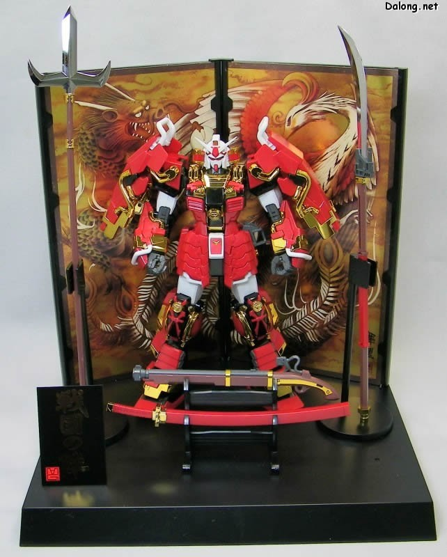 ФОТО gundam Model / 1:100 MG/012B / True Musha clogs None / Deluxe Edition / Sengoku array/7 inch Assembled with high quality