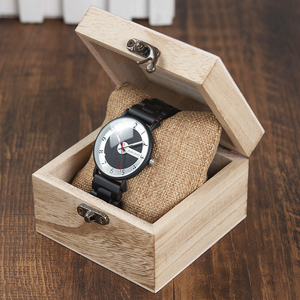 Image 5 - BOBO BIRD Wooden Watches Men Timepieces Fashion Wood Strap Quartz Watch Ideal Gifts Items W*Q23 Drop Shipping